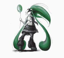 Rainbow Punk: Emerald Funk One Piece - Short Sleeve