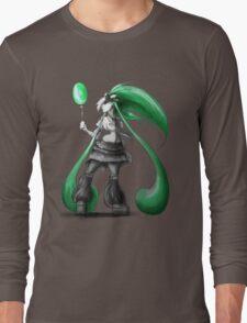 Rainbow Punk: Emerald Funk Long Sleeve T-Shirt