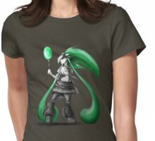 Rainbow Punk: Emerald Funk Womens Fitted T-Shirt