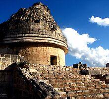 Mayan Observatory by Noe Casas