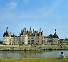 A View of Château de Chambord by Lanis Rossi