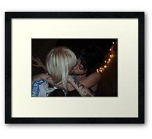 Blondes, Brunettes, Tattoos, Cigarettes, and Love Framed Print