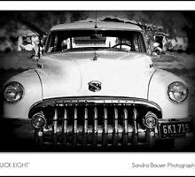 Buick Eight by Sandra Bauser Digital Art