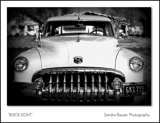 Buick Eight by Sandra Bauser Digital Art