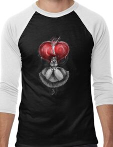 Rainbow Punk: Crimson Lolita Men's Baseball ¾ T-Shirt
