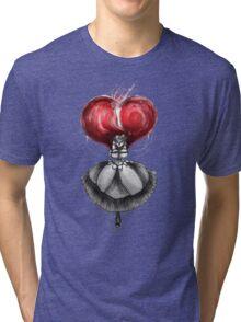 Rainbow Punk: Crimson Lolita Tri-blend T-Shirt