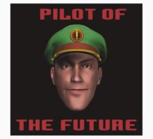 Pilot of the Future. One Piece - Short Sleeve