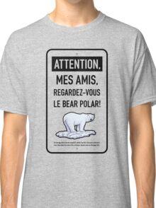 le bear polar sign/transparent Classic T-Shirt