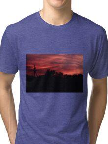 Sunset Silhouette Tri-blend T-Shirt