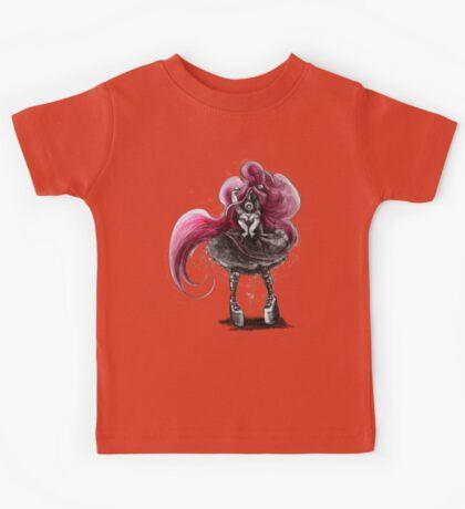 Rainbow Punk: Pinky Punk Kids Tee