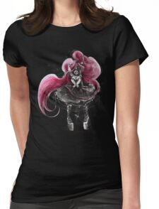 Rainbow Punk: Pinky Punk Womens Fitted T-Shirt