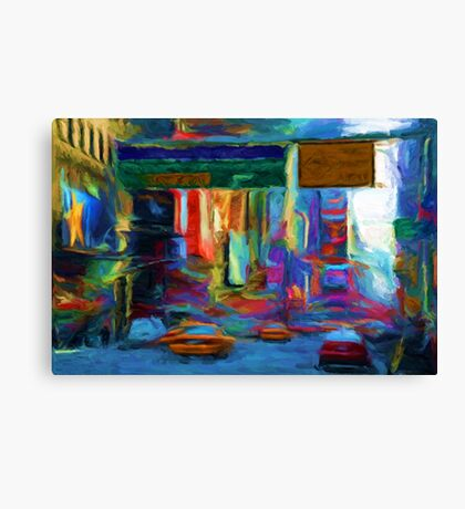 Times Square 2 Canvas Print
