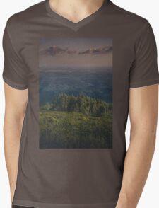 Forest/City/Ocean  Mens V-Neck T-Shirt