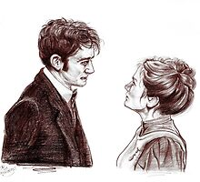 """""""Human Nature"""" Doctor Who Inspired Sketch by Indigo East"""