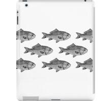School of Monochrome Fish iPad Case/Skin