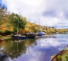 Along The Helford River - Impressions by Susie Peek