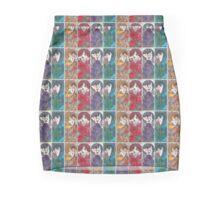 Alphonse Mucha, re-drawn, re-painted, re-mastered  Mini Skirt