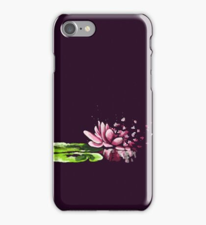 Exploding waterlily iPhone Case/Skin