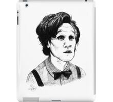 Matt Smith (Doctor Who) Etching iPad Case/Skin