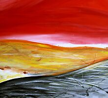 Abstract Landscape by Debbie  Widmer