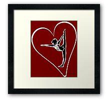 I love Yoga Framed Print