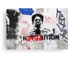 R(love)evolution Stencil Art Canvas Print