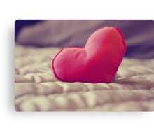 Look After My Heart, I've Left It With You...♥ Canvas Print