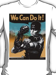 We Can Do It (Furiously) - light colors T-Shirt