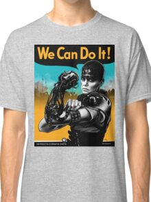We Can Do It (Furiously) - light colors Classic T-Shirt