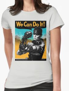 We Can Do It (Furiously) - light colors Womens Fitted T-Shirt