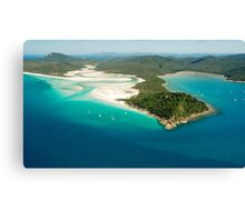 Tongue Point and Hill Inlet Whitsundays Canvas Print