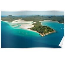 Tongue Point and Hill Inlet Whitsundays Poster