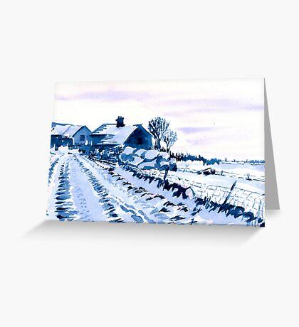 Sparrowpit, Peak District, Derbyshire Greeting Card
