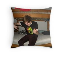 Rock out. Throw Pillow
