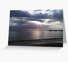 Sunset at Crash Boat Greeting Card