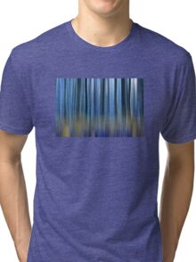 abstract blue forest  Tri-blend T-Shirt