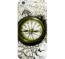 A Tale Of 2 Maps iPhone Case/Skin