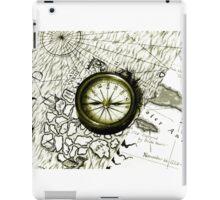 A Tale Of 2 Maps iPad Case/Skin