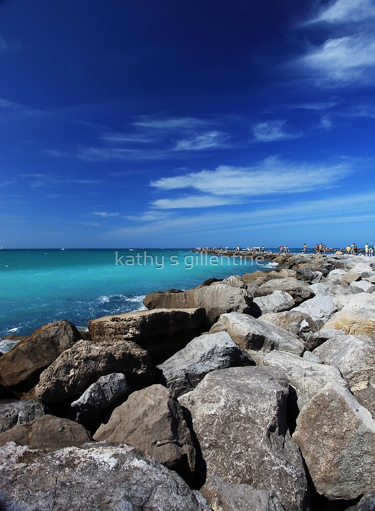 along the jetty by kathy s gillentine