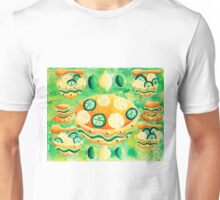 Lemons and Limes with Bowls Unisex T-Shirt