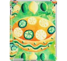 Lemons and Limes with Bowls iPad Case/Skin