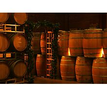 Wine Cellar Photographic Print