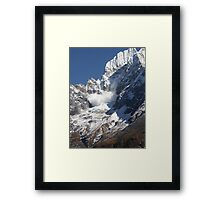 Avalanche ~ Look Out Below Framed Print