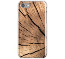 Natural Timber Wood Grain  iPhone Case/Skin