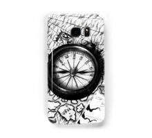 A Tale of 2 maps - B/W Samsung Galaxy Case/Skin