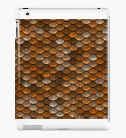 Earthy Abstract Scale Pattern iPad Case/Skin