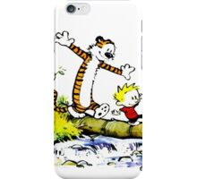 Calvin and hobbes fun adventure iPhone Case/Skin