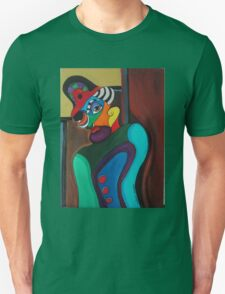 Man With Hat Unisex T-Shirt