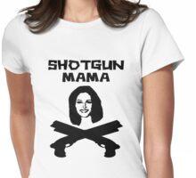 shotgun mama 2 Womens Fitted T-Shirt