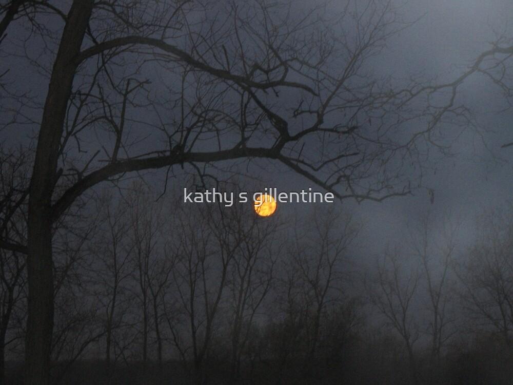misty moon by kathy s gillentine